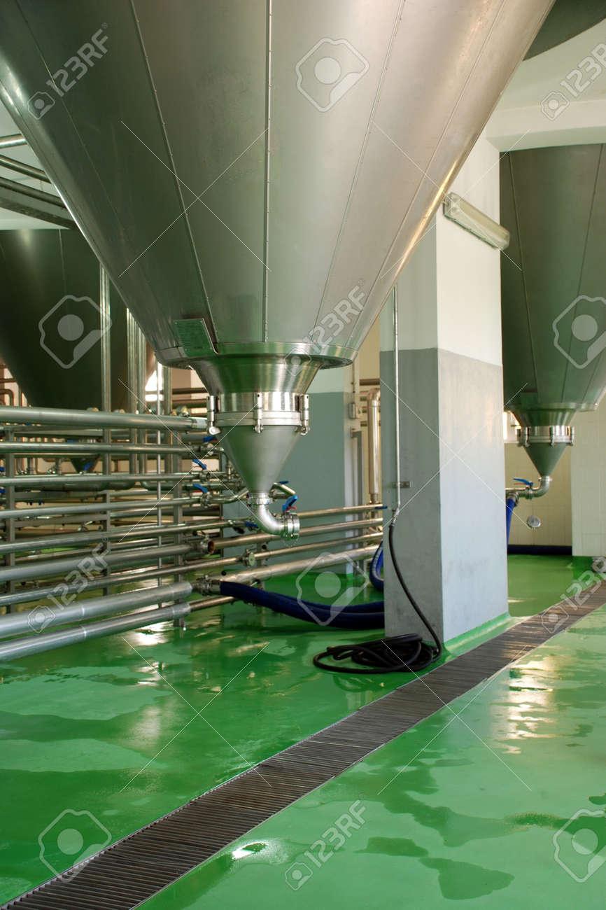 Beer Tanks Stock Photo - 5266523
