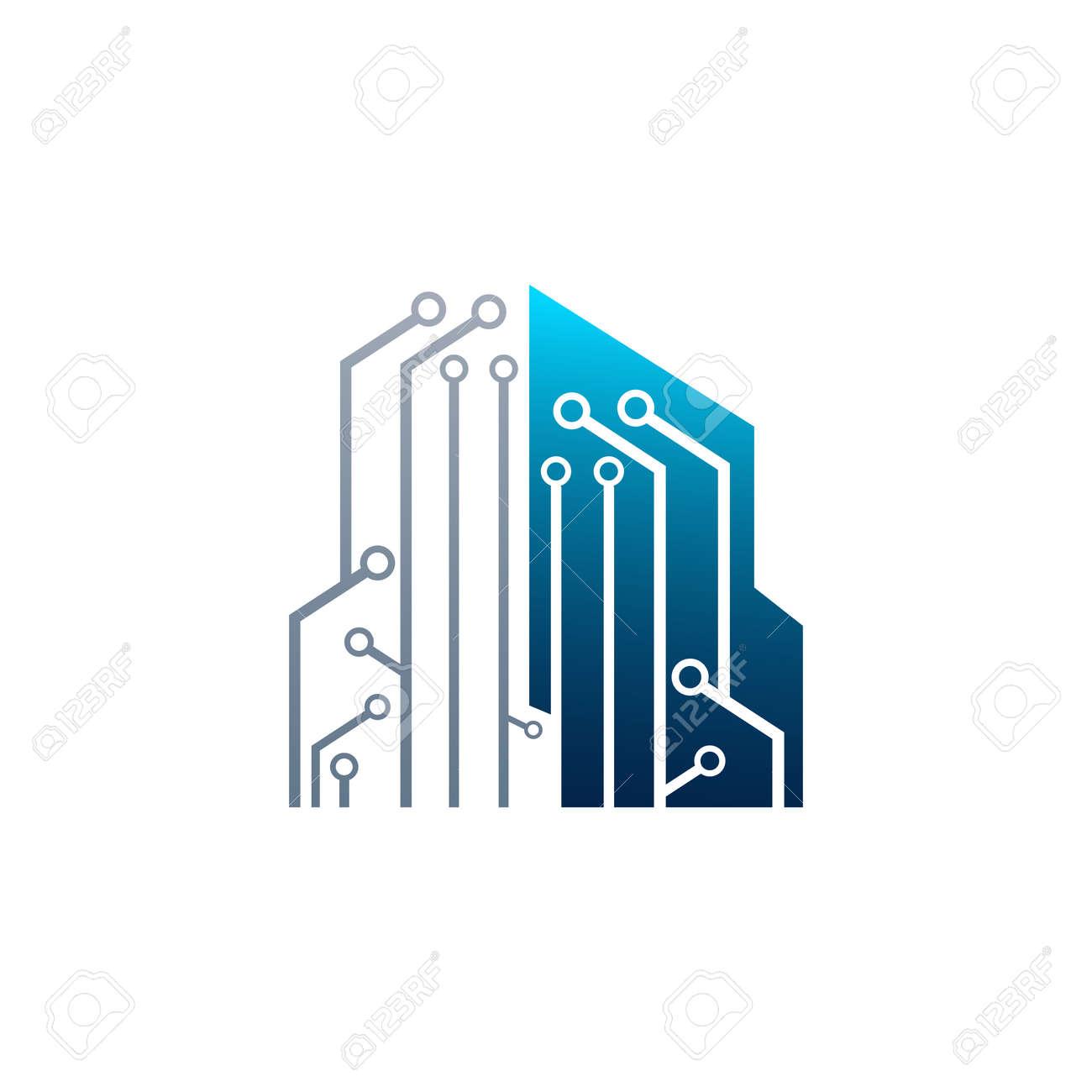 circuit tech element electronics icon digital electronics logocircuit tech element electronics icon digital electronics logo design creative electronic circuits logo