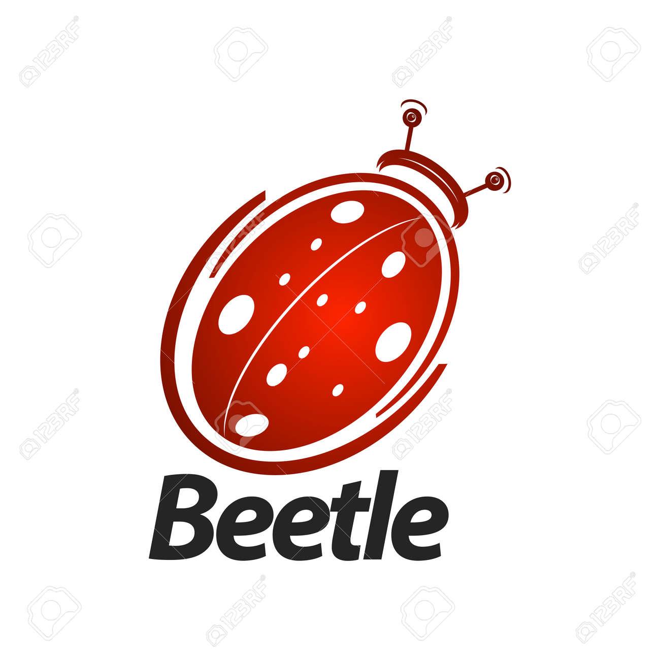 Beetle logo concept design. Symbol graphic template element vector - 143647633