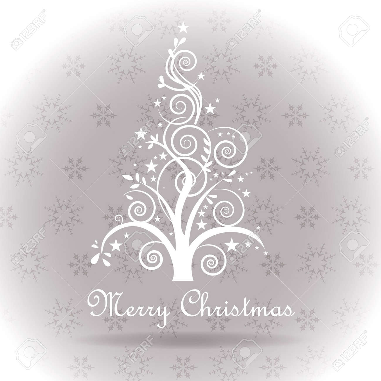Modern christmas greetings postcard abstract christmas tree modern christmas greetings postcard abstract christmas tree on a square background vector snow texture stock m4hsunfo