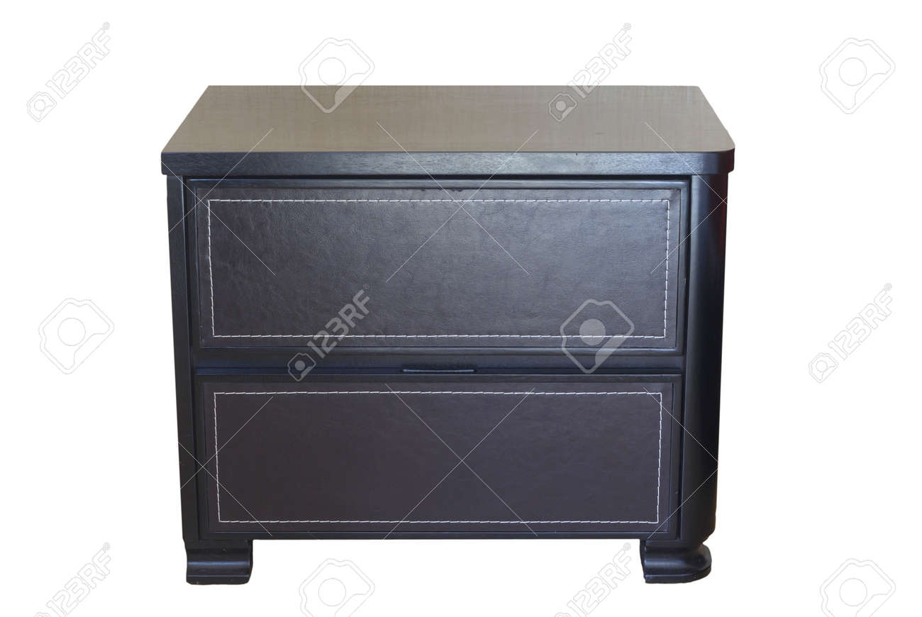 nightstand isolated Stock Photo - 4583954