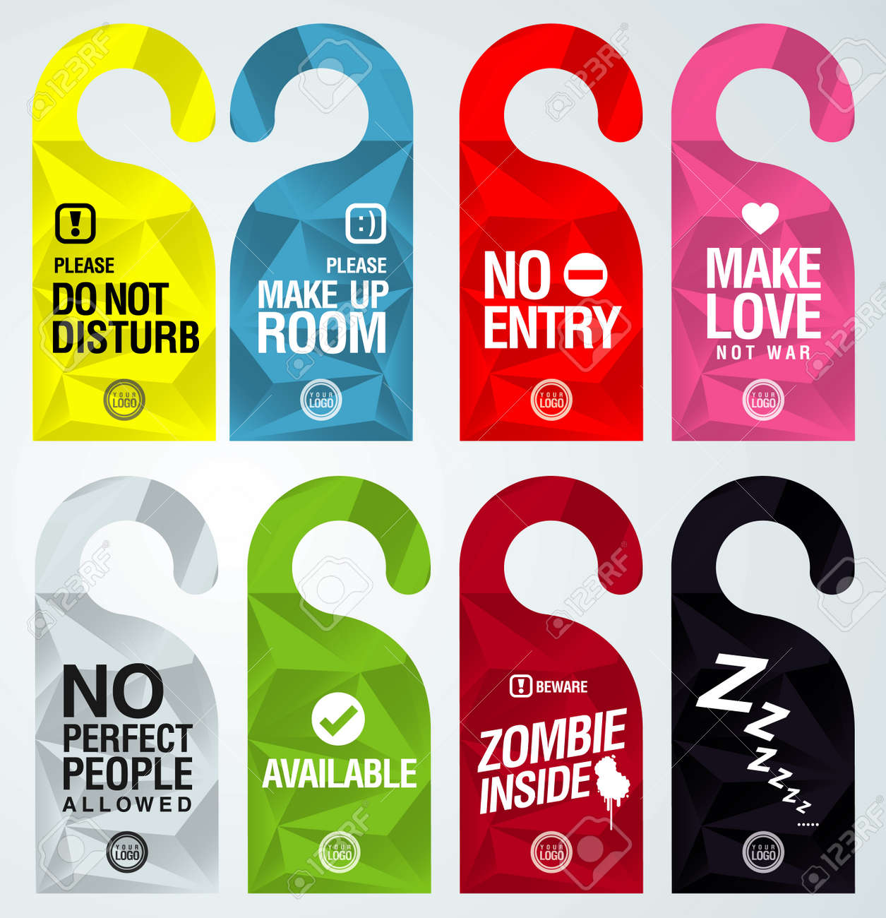 Door Hanger Graphic Design modren door hanger graphic design do not disturb with special