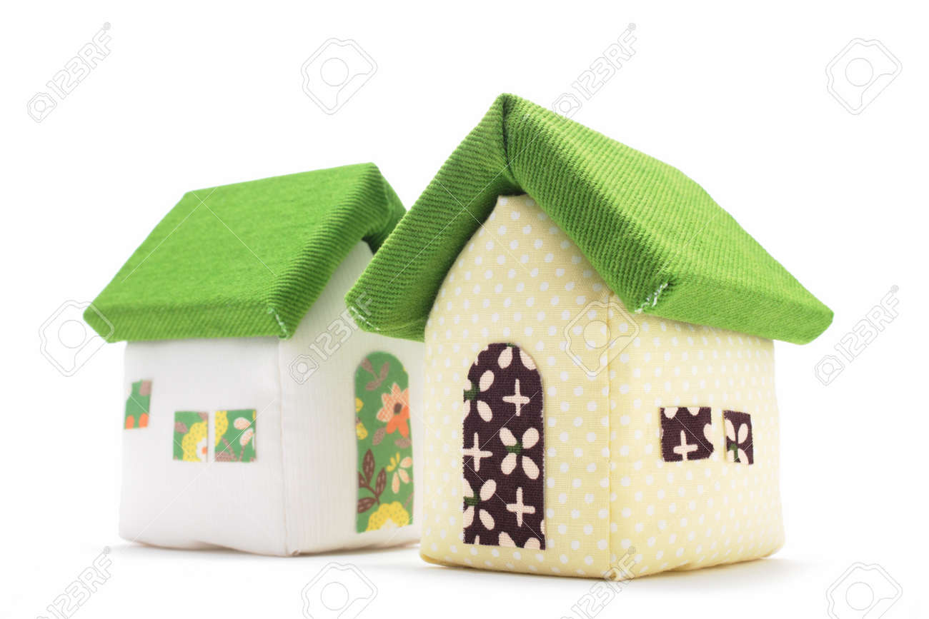 Fabric Houses Stock Photo Picture And Royalty Free Image Image 13844025