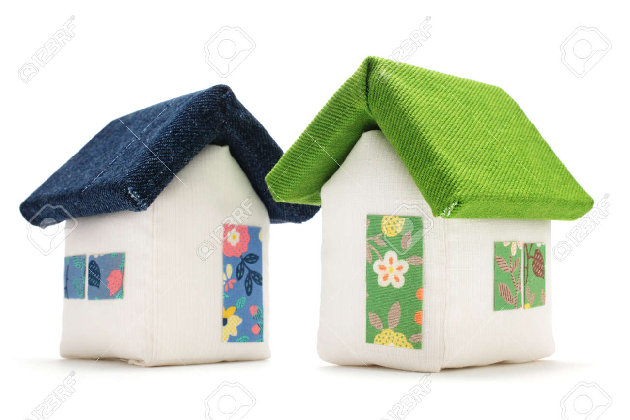Fabric Houses Stock Photo Picture And Royalty Free Image Image 115229631