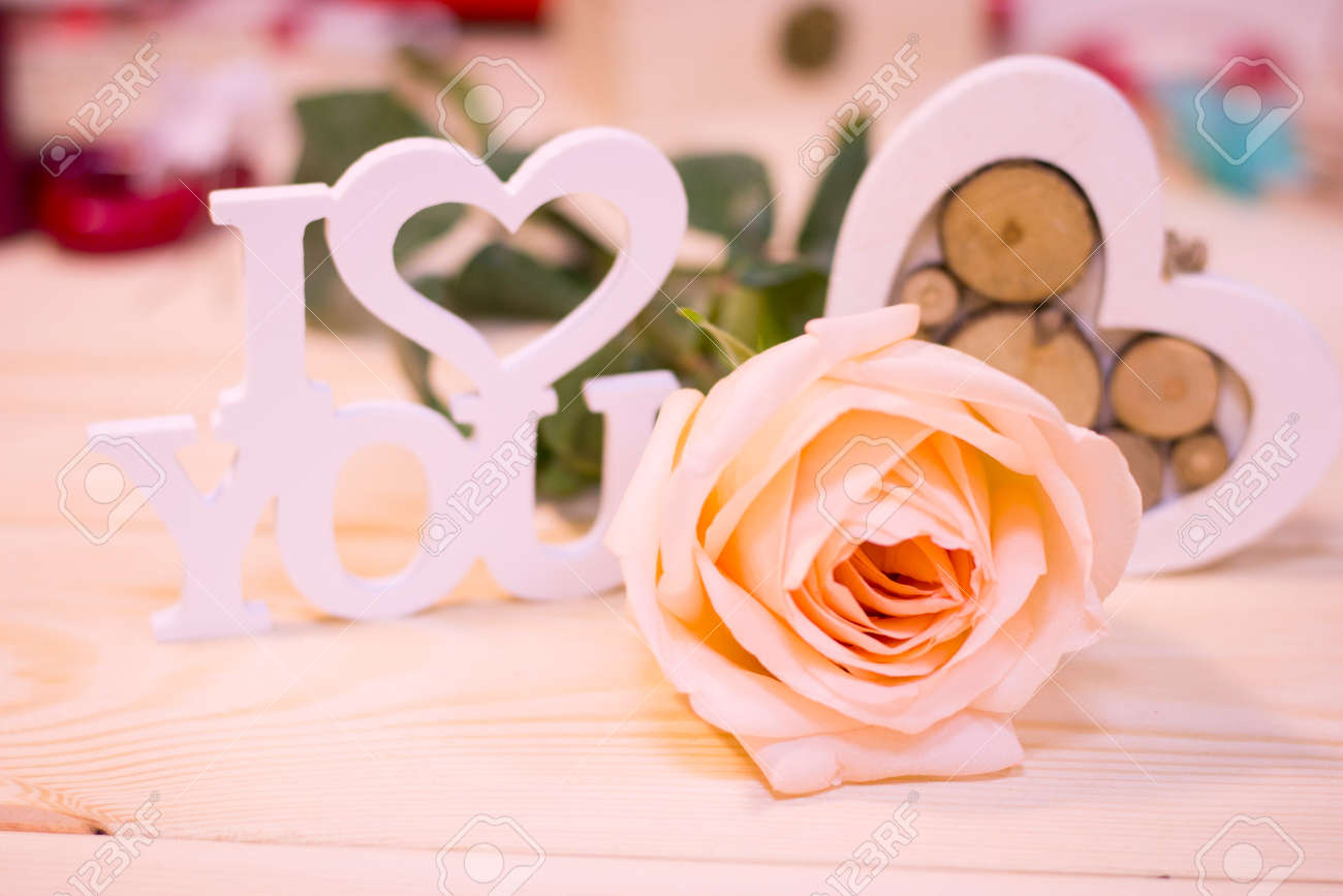 Favoriete Concept Van Valentijnsdag, Liefde, Verjaardag, Bruiloft Met Een &EO74