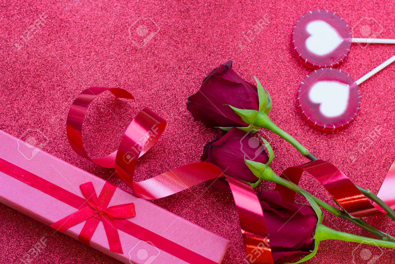 The Concept Of Love Wedding Anniversary Birthday Gift A Stock