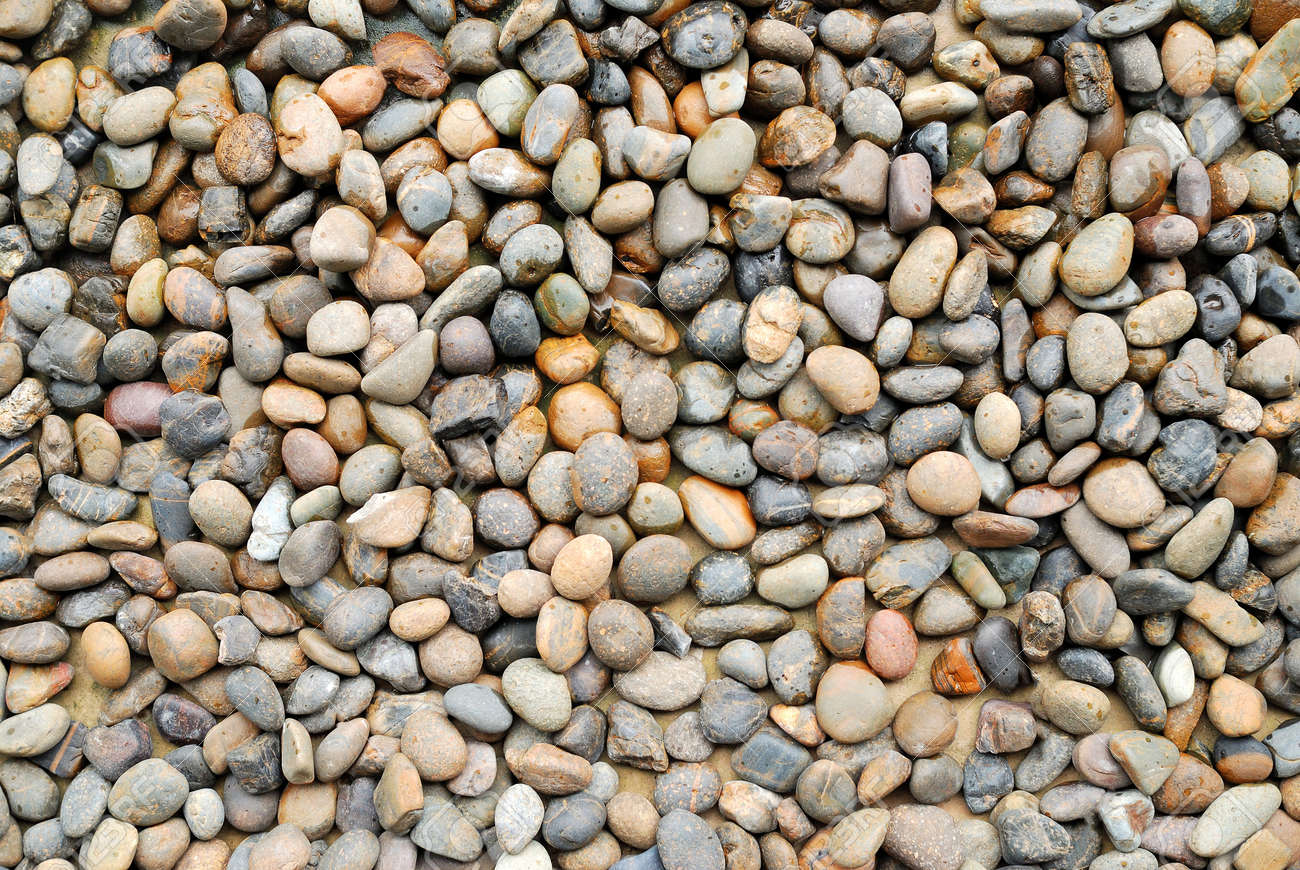 background with round pebble stones Stock Photo - 15042008