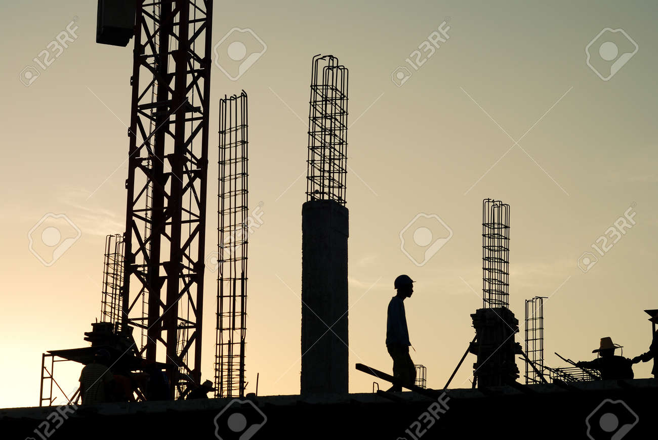 construction  site is not finished. Stock Photo - 15513802