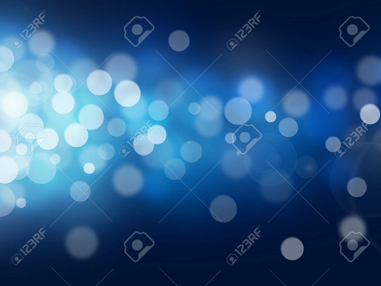 blue bokeh abstract light backgrounds Stock Photo - 23653106