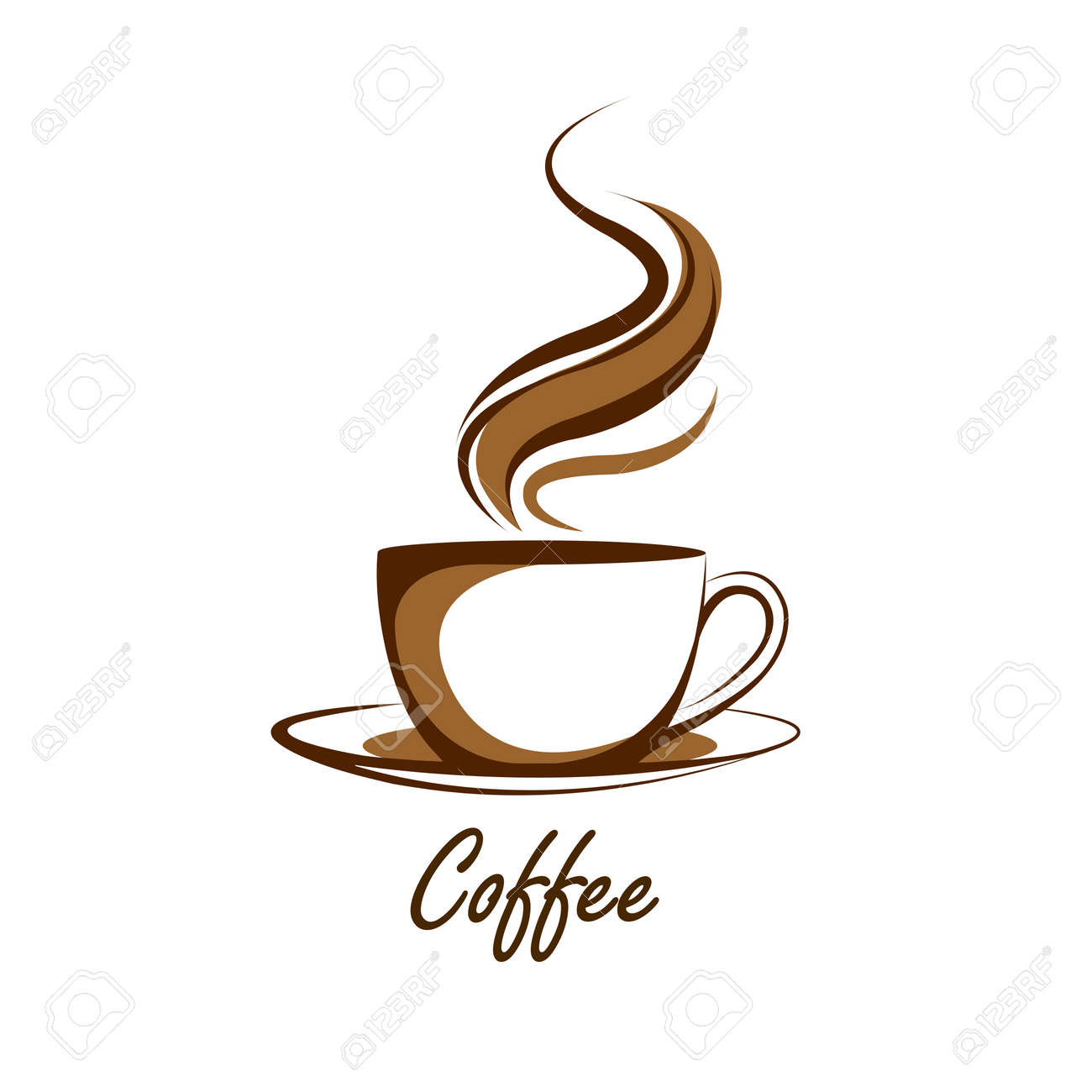 coffee cup vector illustration royalty free cliparts vectors and rh 123rf com coffee cup vector black and white coffee cup vector free download