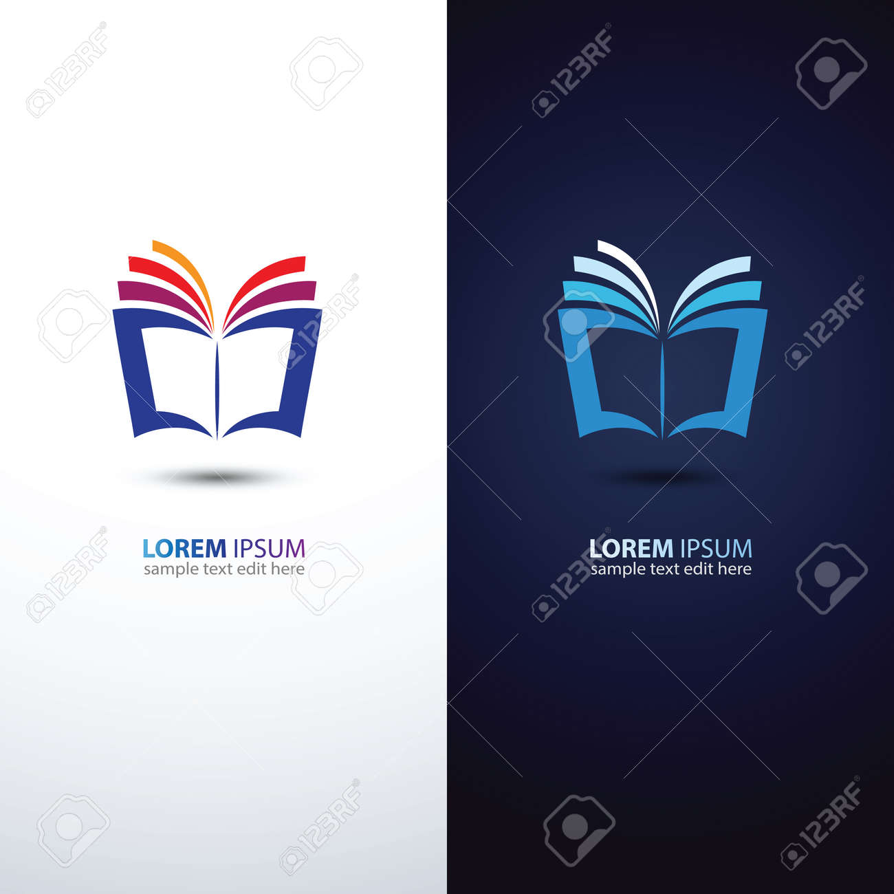 colorful book icon,vector illustration Stock Vector - 46185999