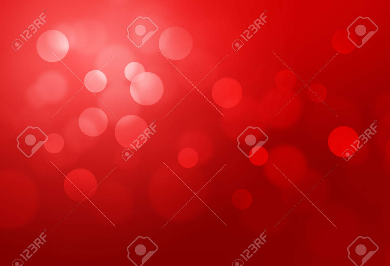 Red bokeh abstract glow light backgrounds - 47914225