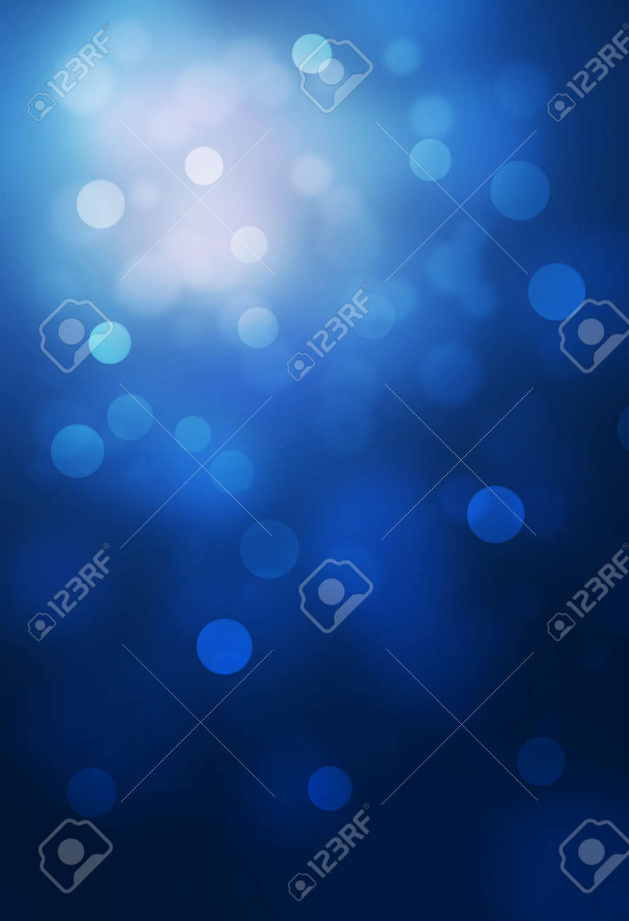 blue bokeh abstract glow light backgrounds - 49008405