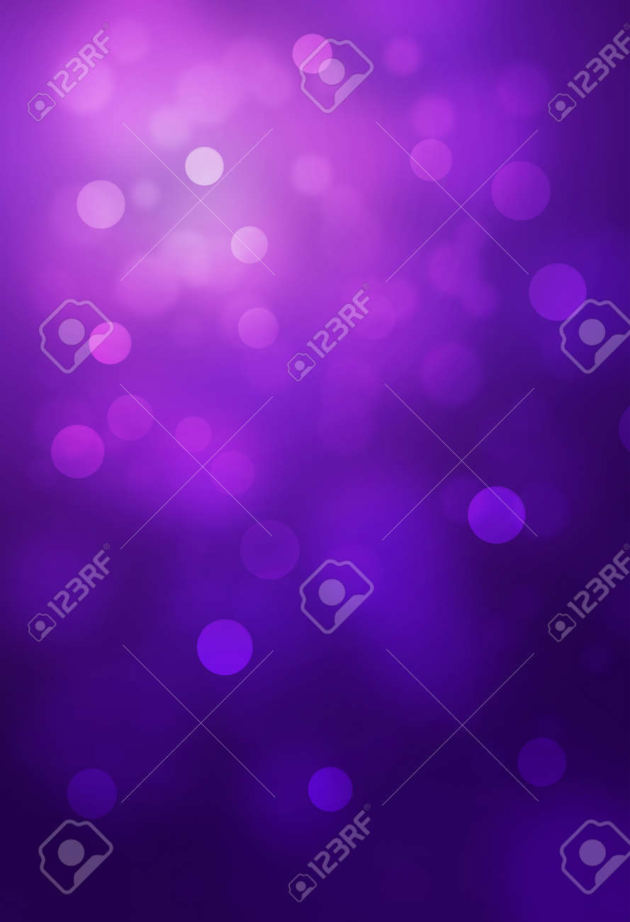 Violet bokeh abstract glow light backgrounds - 51569491