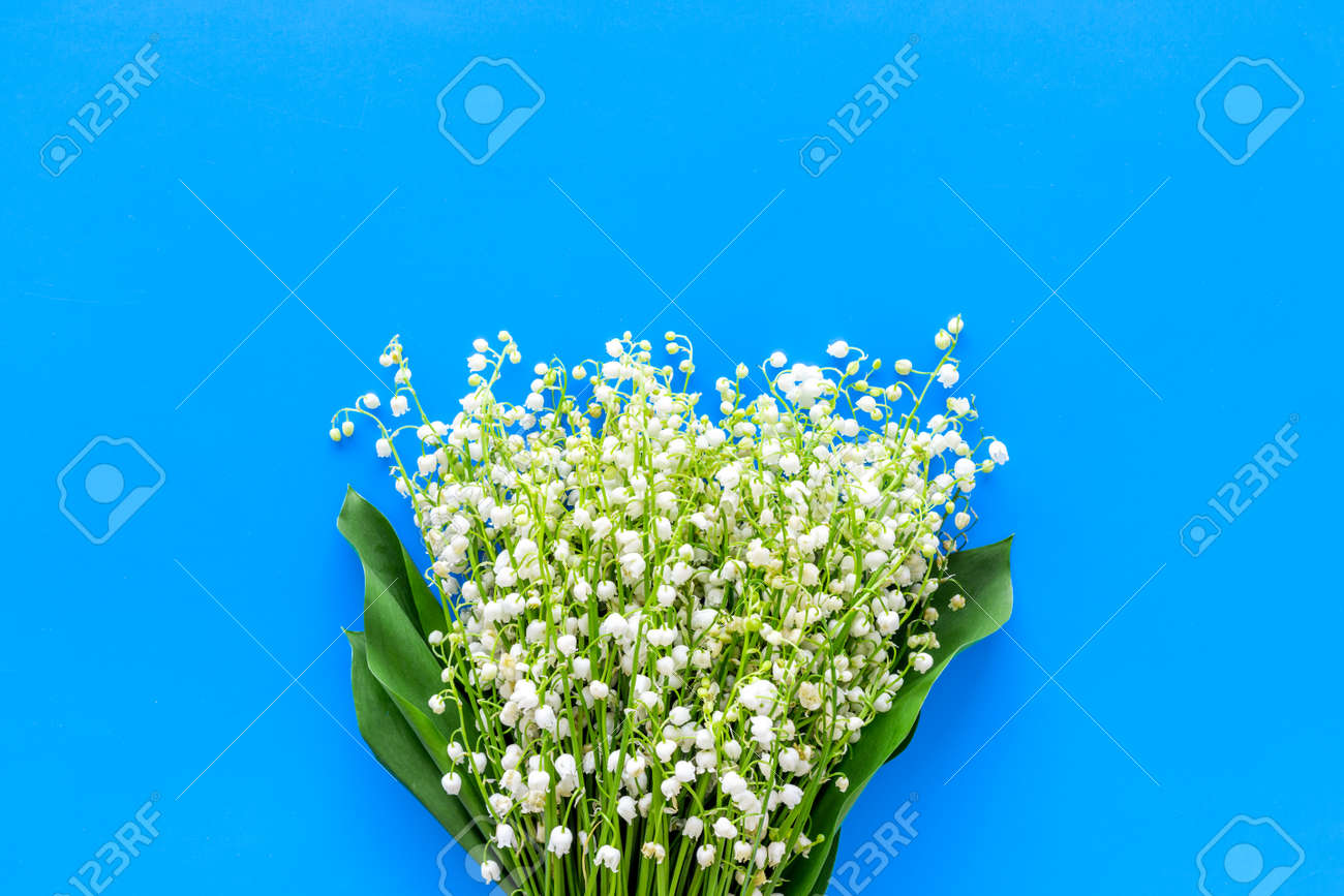 Small And Fragrant Spring Flowers Bouquet Of Lily Of The Valley
