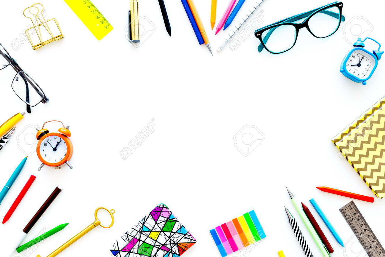 Education Background, Frame. School, Student, Office Supplies ...