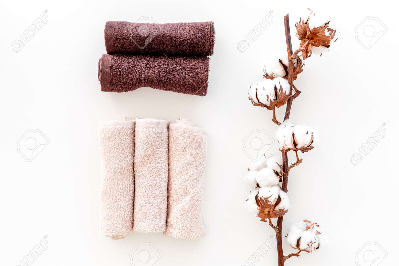Cotton Towels High Quality Set Of Towels Twisted Coil Near Dry