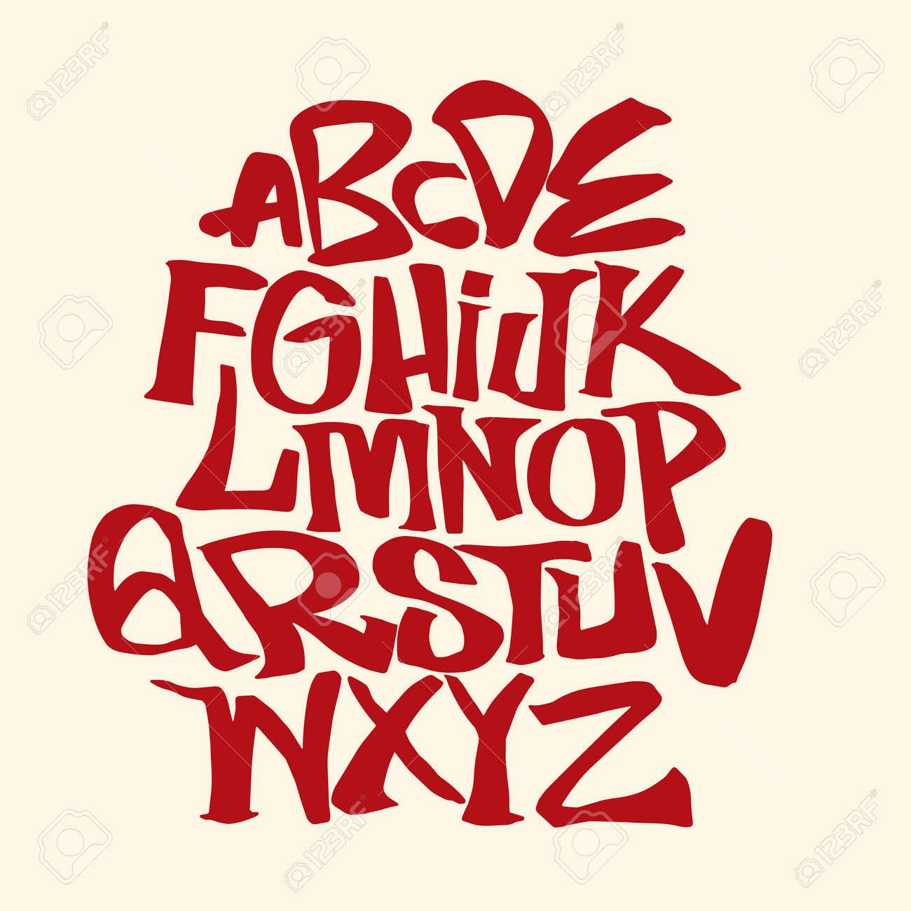 Hand lettering sketch font vector alphabet royalty free cliparts hand lettering sketch font vector alphabet stock vector 91361884 altavistaventures Choice Image