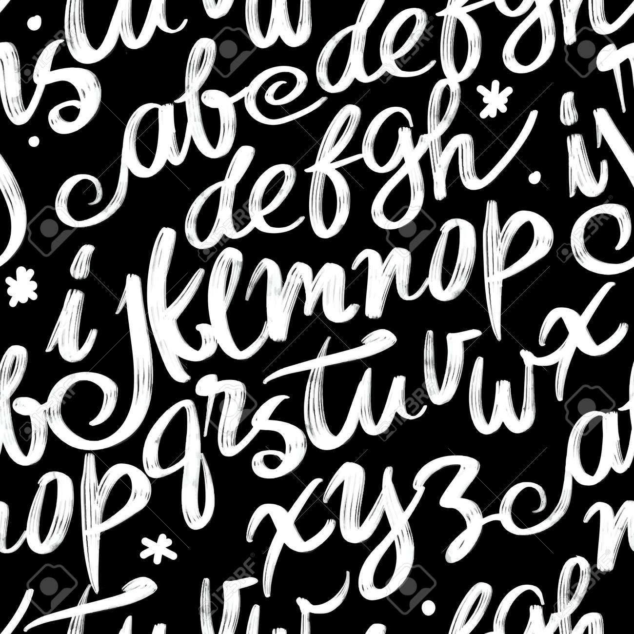 Vector Alphabet  Lettering and Custom Typography for Designs: