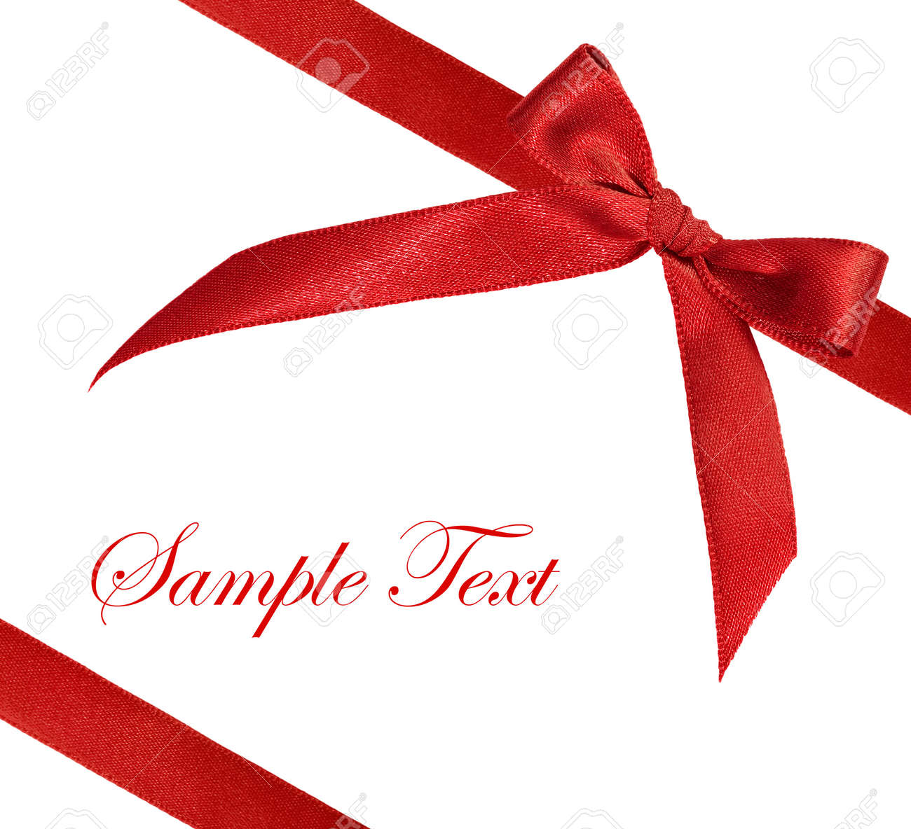 Black White And Red Background Images Red Ribbon on White Background