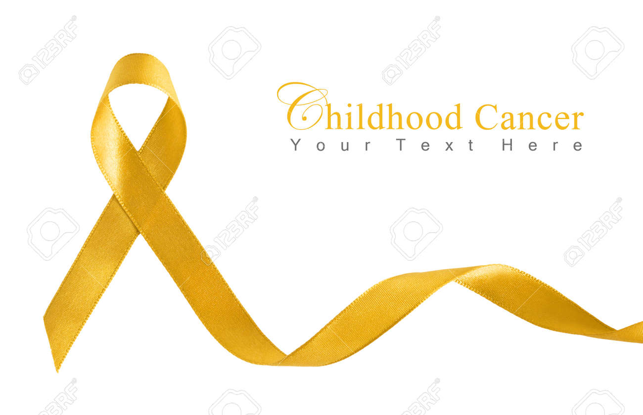 Childhood Cancer Ribbon Images Stock Pictures Royalty Free