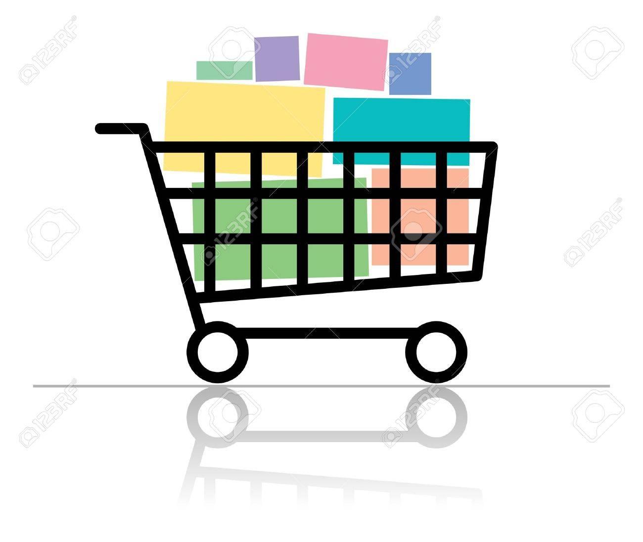 Shopping cart - 13796156