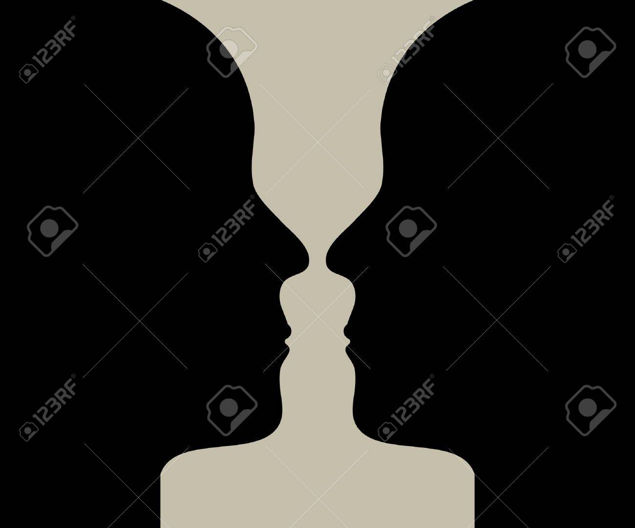 Human head make a silhouette of vase royalty free cliparts human head make a silhouette of vase stock vector 13895753 reviewsmspy