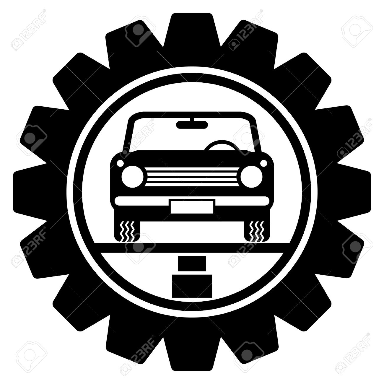Car Service Symbol Royalty Free Cliparts Vectors And Stock