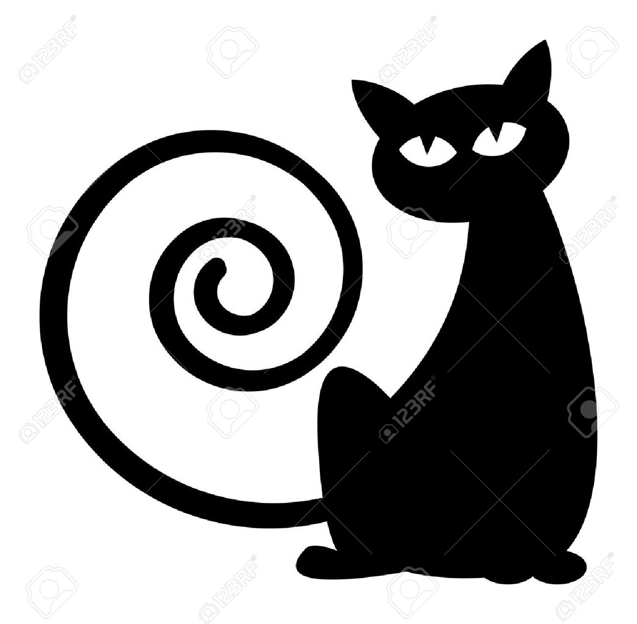 Cat Silhouette Stock Photos Images. Royalty Free Cat Silhouette ...