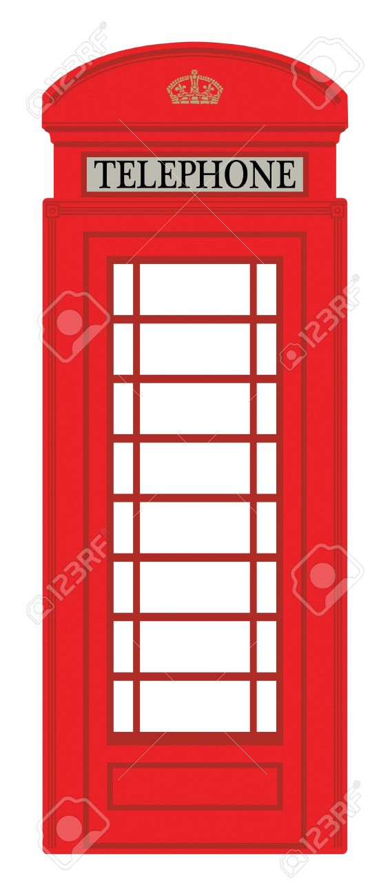 Phone booth Stock Vector - 15271914