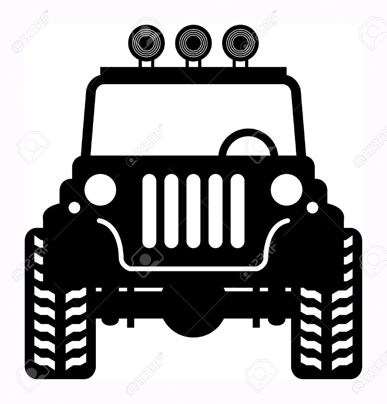 Off-road vehicle Stock Vector - 18088423