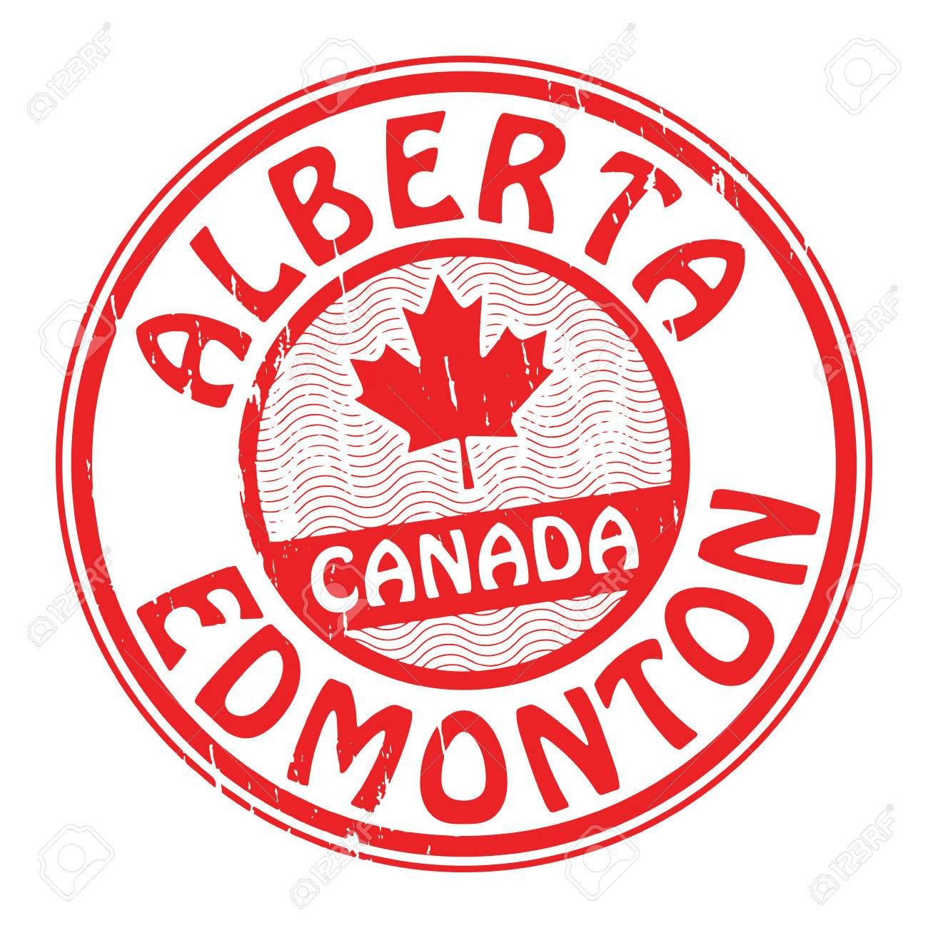 Grunge rubber stamp with name of canada alberta and edmonton grunge rubber stamp with name of canada alberta and edmonton written inside the stamp stock sciox Images