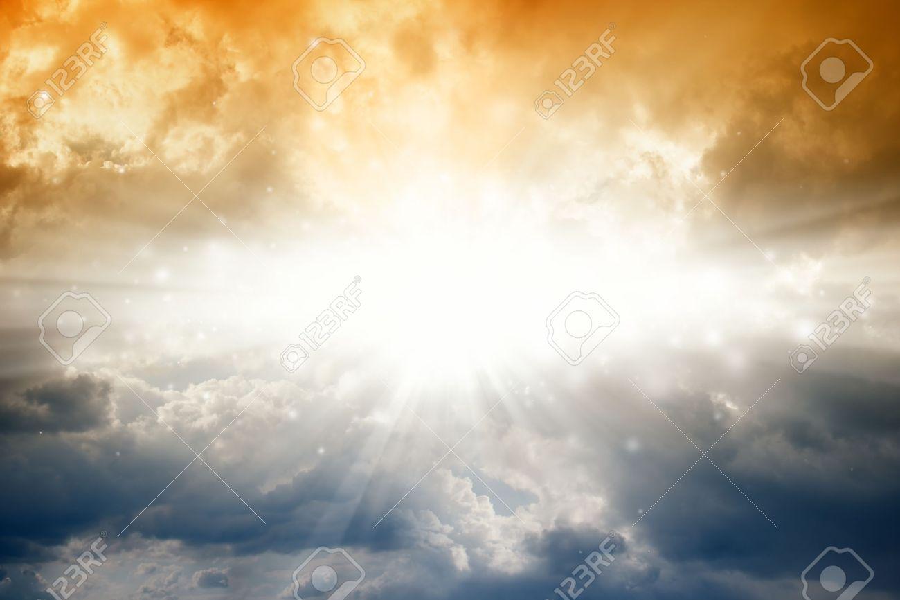 Beautiful background bright sun in dark sky stock photo picture beautiful background bright sun in dark sky stock photo 12907577 voltagebd Images