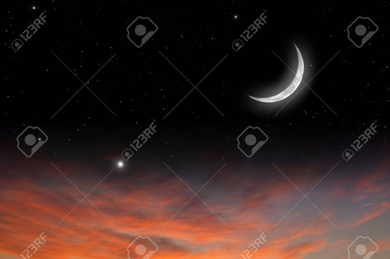 https://previews.123rf.com/images/_ig0rzh_/_ig0rzh_1302/_ig0rzh_130200002/17691117-Peaceful-background-sunset-sky-with-moon-stars-red-clouds--Stock-Photo.jpg