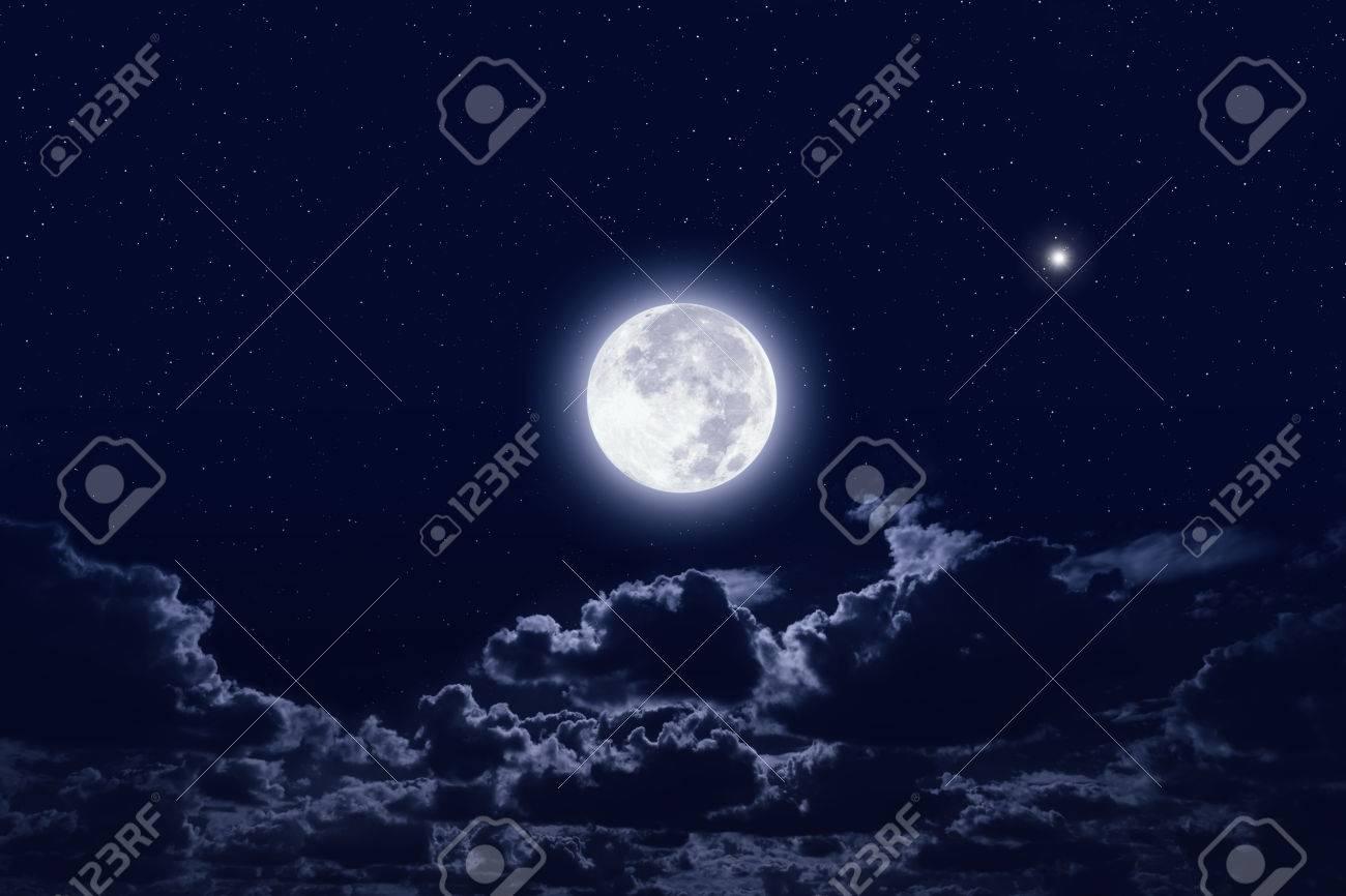 Look - Moon sky Night stars video