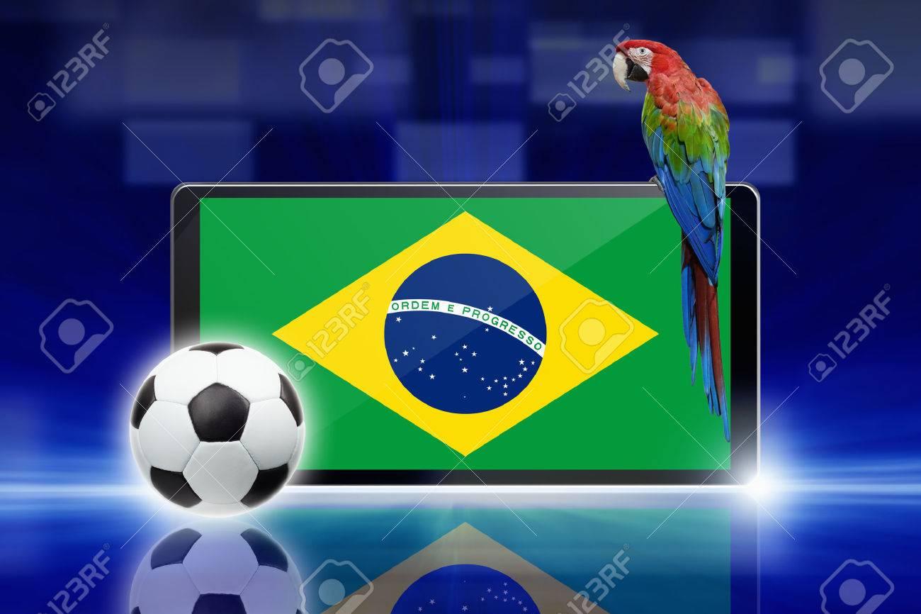 La Tecnologia Los Deportes De Fondo Tablet Pc Ordenador Balon
