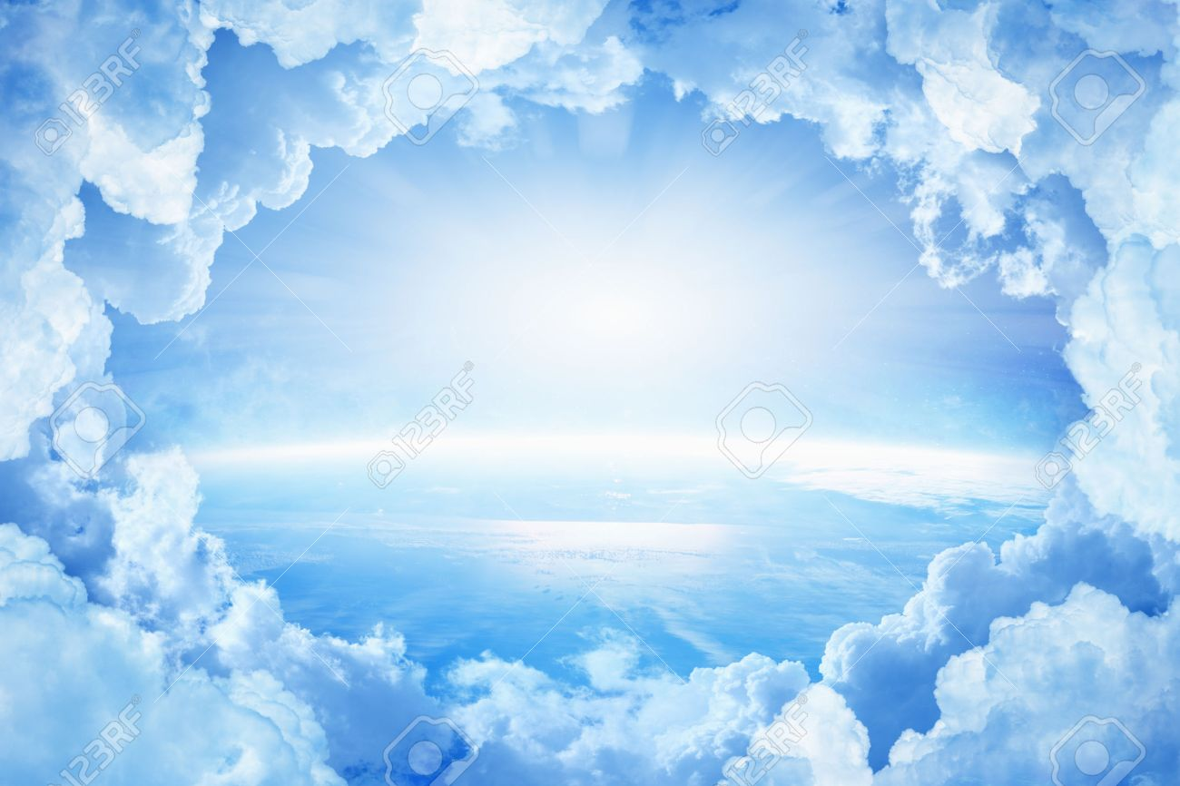 White Image 52460115 Photo Free Royalty Bright From Light Planet In Earth Clouds And Picture Heaven Image Blue Stock