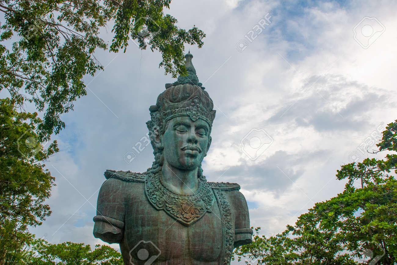 Vishnu Statue Garuda Wisnu Kencana Cultural Park Bali Indonesia