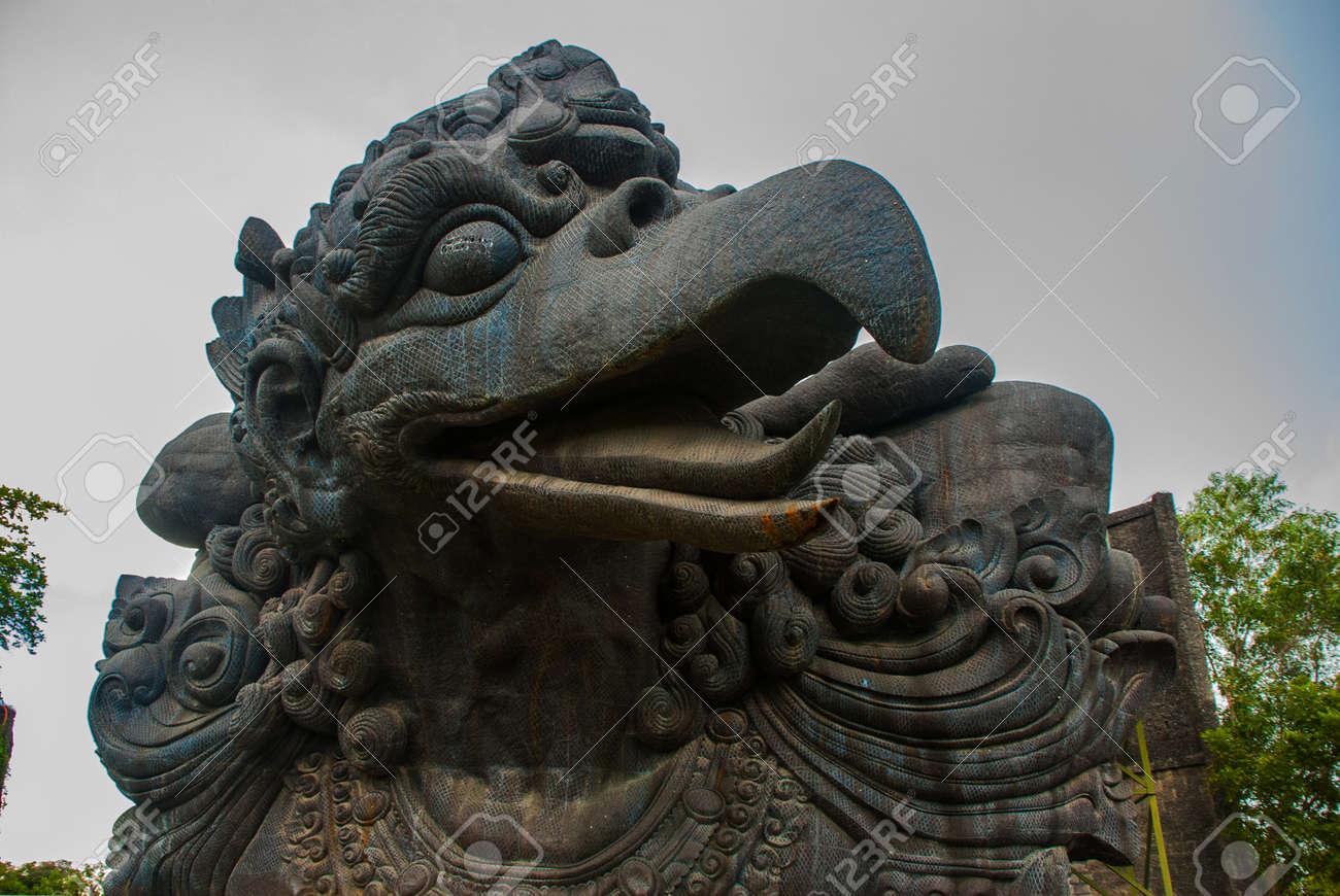 Garuda Statue Of Bali Island Indonesia Garuda Wisnu Kencana