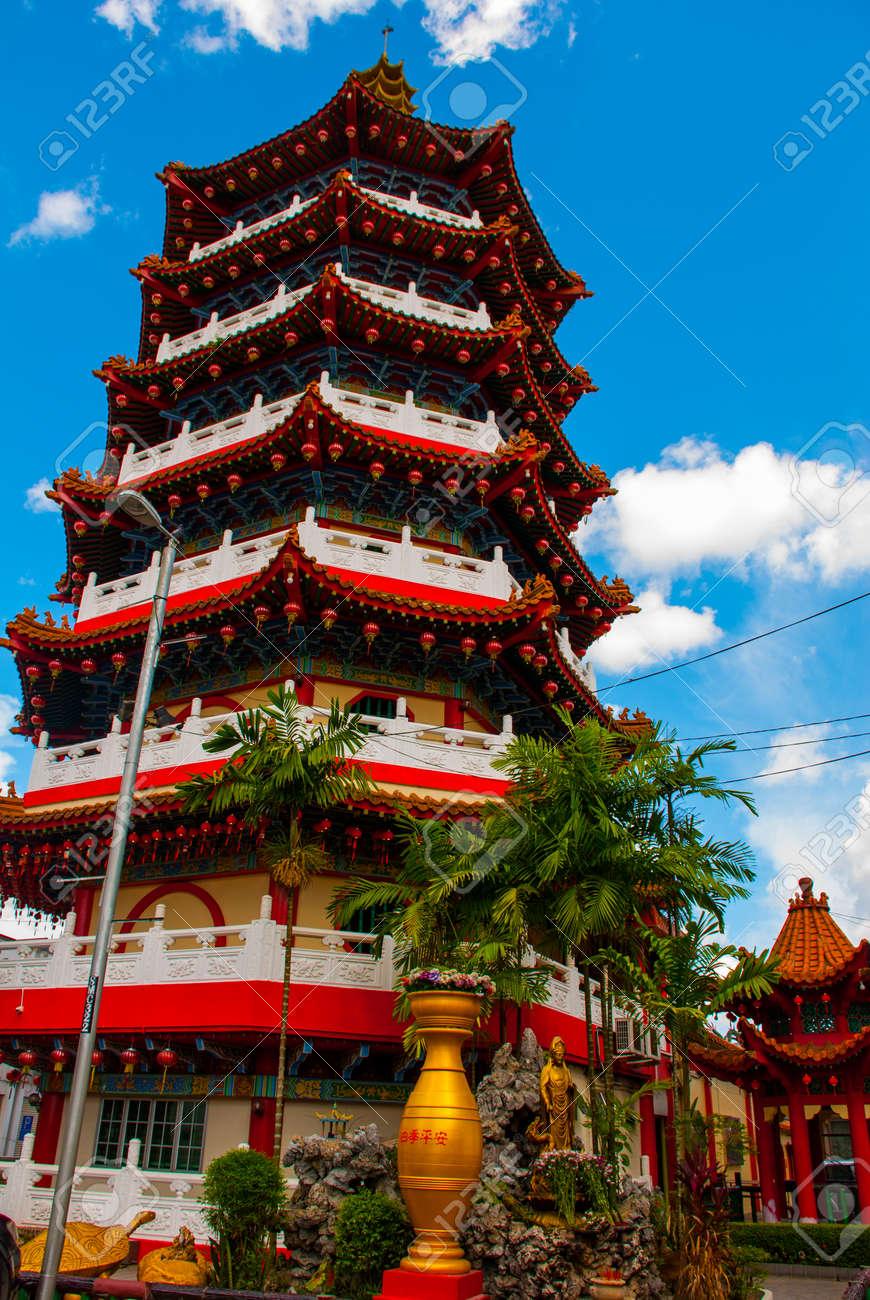 Tua Pek Kong Temple the Beautiful Chinese Temple of the Sibu