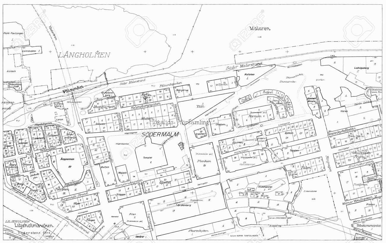 Old blueprint of part stockholm stock photo picture and royalty old blueprint of part stockholm stock photo 25274058 malvernweather Images
