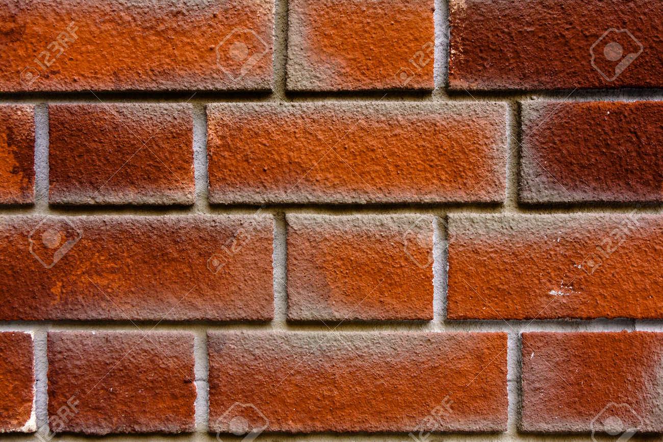 Brick Wall Background Basic Pattern. As Background Stock Photo ...