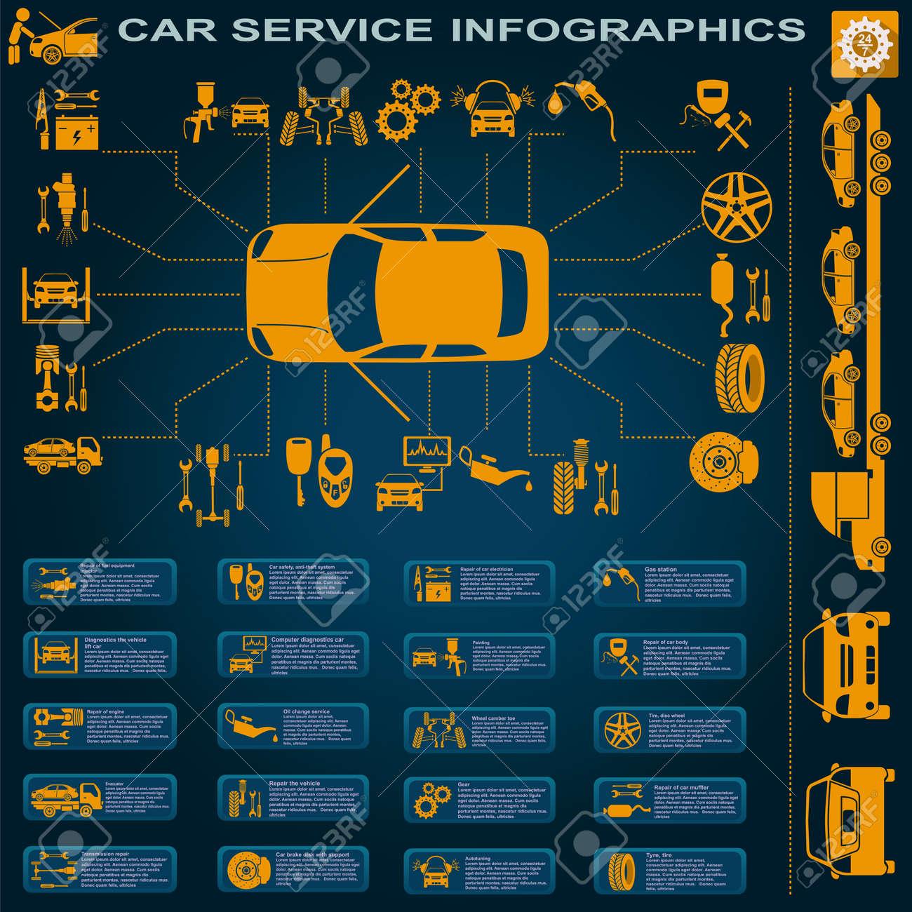 28876339-car-service-repair-infographics