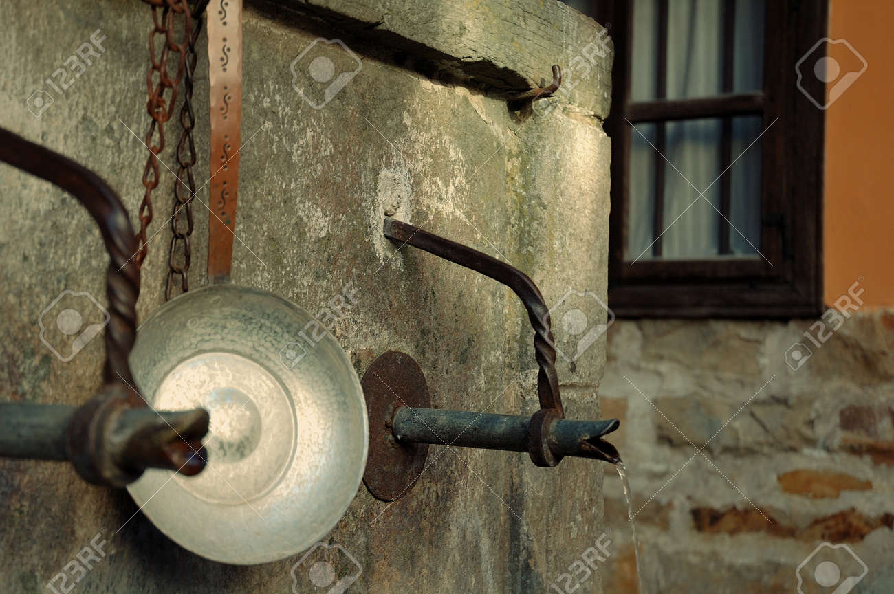 Two Vintage Taps In Etara, Bulgaria Stock Photo, Picture And Royalty ...