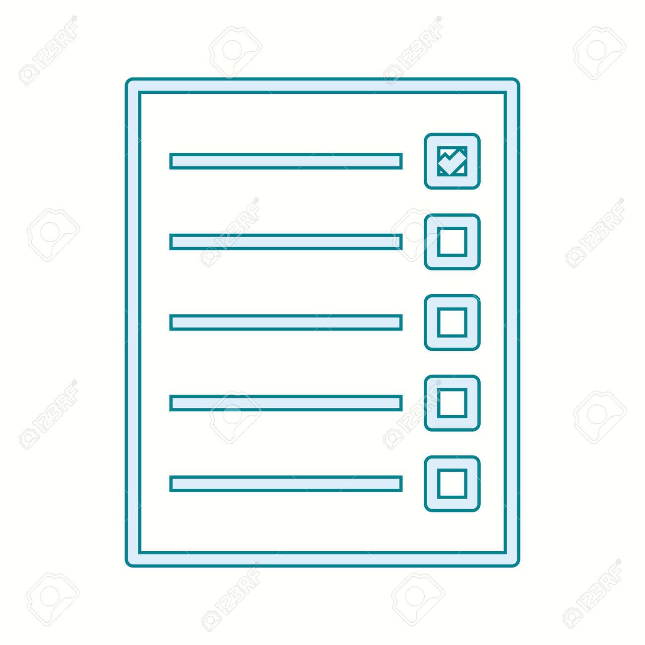 Beautiful Quiz Line Vector Icon - 137425763