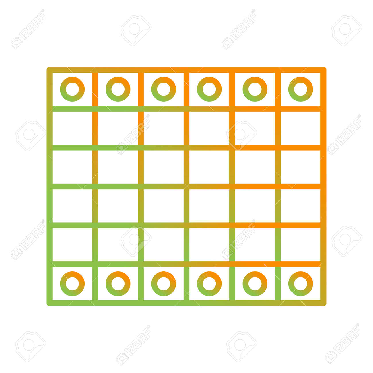 Unique Chessboard Line Vector Icon - 167962603