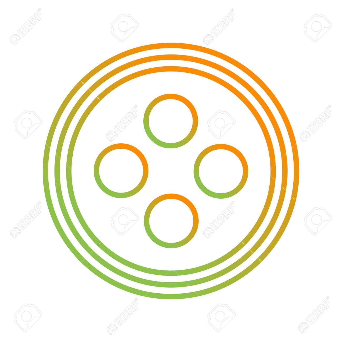 Unique Button Line Vector Icon - 167962649