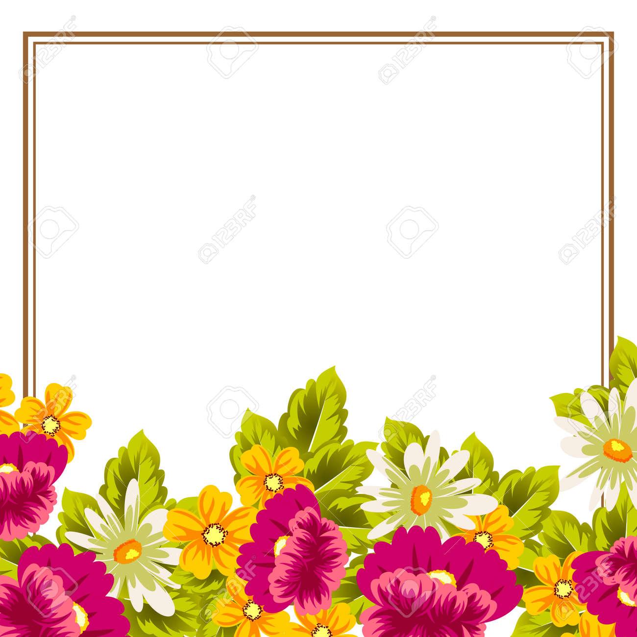 Flower Design For Cards Togo Wpart Co