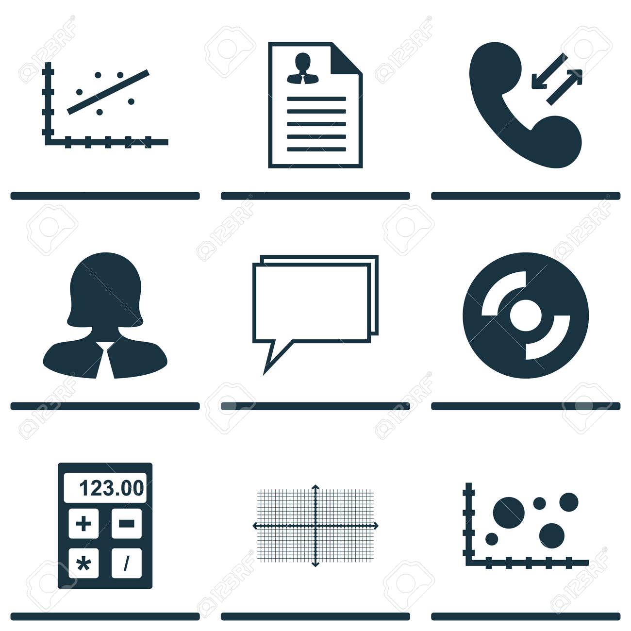 Set Di 9 Universali Modificabili Icone Puo Essere Usato Per Web
