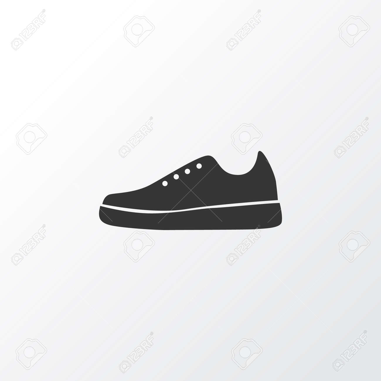 Gumshoes Icon Symbol Premium Quality Isolated Sneakers Element